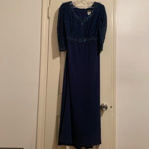 Dresses & Skirts - Navy blue gown!!